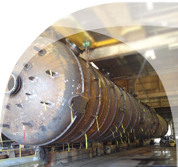 Metal Fabrication Field Machining Heat Exchanger